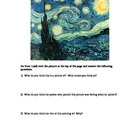 Starry Night - the painting and 2 poems