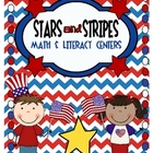 Stars &amp; Stripes Math and Literacy Centers