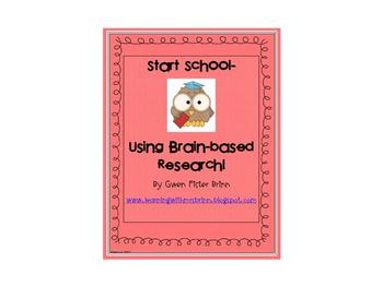 Start School- Using Brain-based Research