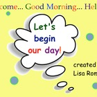 Start the Day Calendar &amp; Math activities SmartBoard Lesson