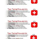 FREE Common Core Test First Aid Survival Kit Student Activ