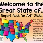 State Report Pages, 25 total pages:  Welcome to the Great