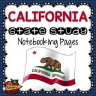 State Study - California State Study Notebooking Pages