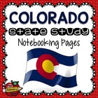 State Study - Colorado State Study Notebooking Pages