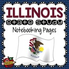 State Study - Illinois State Study Notebooking Pages