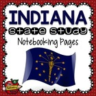 State Study - Indiana State Study Notebooking Pages