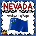 State Study - Nevada State Study Notebooking Pages