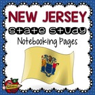State Study - New Jersey State Study Notebooking Pages