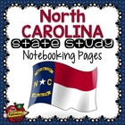 State Study - North Carolina State Study Notebooking Pages