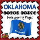 State Study - Oklahoma State Study Notebooking Pages