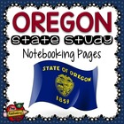 State Study - Oregon State Study Notebooking Pages