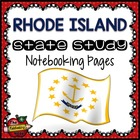 State Study - Rhode Island State Study Notebooking Pages