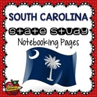 State Study - South Carolina State Study Notebooking Pages