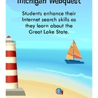 State of Michigan Webquest Internet Scavenger Hunt