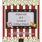 Statement and Question Pocket Chart Station Sort