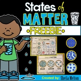 States of Matter FREEBIE! (Matching Matter Sorting Printable)