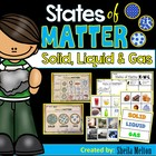 States of Matter (Solids, Liquids, Gas) Sorting, printable