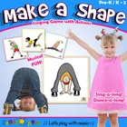 Statue Shape Card Set with Singing Activity