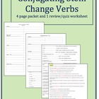 Stem Change Verb Unit