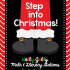 Step Into Christmas! Math & Literacy Activities
