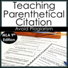 How to Create & Use Parenthetical Citations:  Step-by-Step