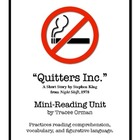 Stephen King's Quitters Inc. (Night Shift) Short Story Materials