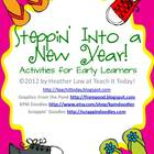 Steppin&#039; Into a New Year! Activities for Early Learners