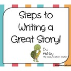 Steps to Writing a Great Story Posters