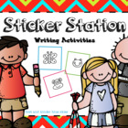 Sticker Story Writing Station Pack