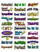 Stickers: Positive Comment Stickers that print on Labels