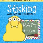 Sticking With Math Journals - Grade 1 -Term 3