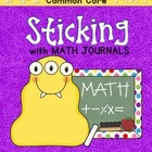 Sticking With Math Journals - Grade 1 -Term 4