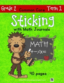 Sticking With Math Journals - Grade 2 - Term 1
