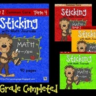 Sticking with Math Journals BUNDLE Grade 2