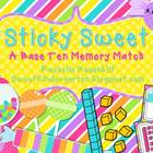 Sticky Sweet {A Base Ten Memory Match}