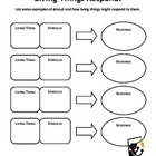 Stimulus &amp; response worksheet