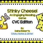 Stinky Cheese! Reading Game - CVC Edition {3 Versions}