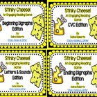 Stinky Cheese! Reading Game - Literacy Bundle {5 Different