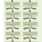 Stinky Feet! Reward Card for Students (Great Incentive!)
