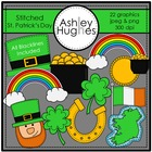 Stitched St. Patrick&#039;s Day {Graphics for Commercial Use}