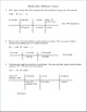 Stoichiometry Quiz