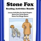 Stone Fox Novel Unit Activities Worksheets Printables