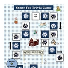Stone Fox Printable Trivia Reading Comprehension Game