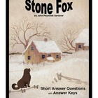 Stone Fox:  Short Answer Questions