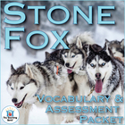 Stone Fox Vocabulary & Assessment Packet