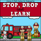 Stop, Drop, and Learn (Fire Safety Centers and Printables