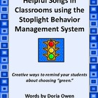 Stop Light Behavior Management System Songs