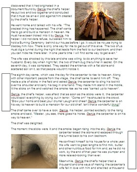 Stories from Ancient China - Moral and Annotation