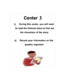 Story Elements Center Activities