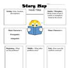 Story Elements Worksheet